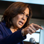 news thumbnail for Kamla Harris Calls Trump a    Drug Pusher    for Supporting Hydroxychloroquine