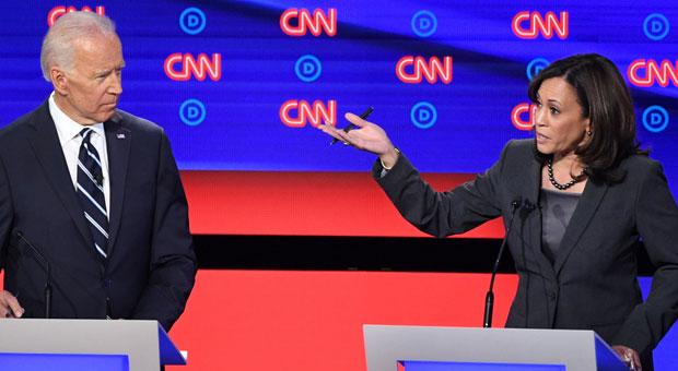 Kamala Harris: 'I Believe' Joe Biden's 'Touching and Sniffing' Accusers - Flashback