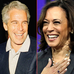 Kamala Harris Took Campaign Cash from Jeffrey Epstein's Law Firm