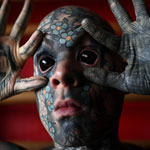 Kindergarten Teacher Complains He Can't Get Work After Tattooing His Eyeballs Black