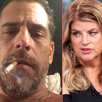 Kirstie Alley Blasts Media's 'Communist Censorship' of Hunter Biden Scandal