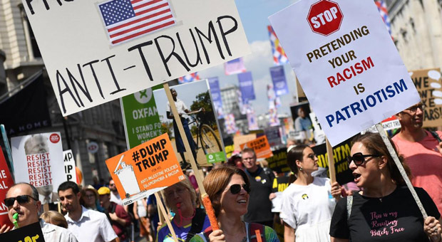 Left Calls for Trump Supporters to Be 'Monitored' by 'an Army of Citizen Detectives'