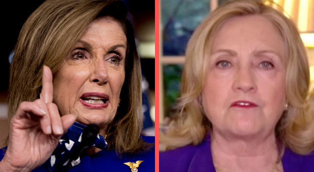 Left Slams Pelosi and Hillary for Still Pushing 'Trump-Russia' Conspiracy Theories
