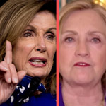 Left Slams Pelosi & Hillary for Still Pushing 'Trump-Russia' Conspiracy Theories