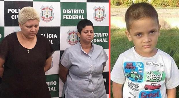 rosana candido and kacyla pessoa mutilated 9 year old rhuan before brutally killing him