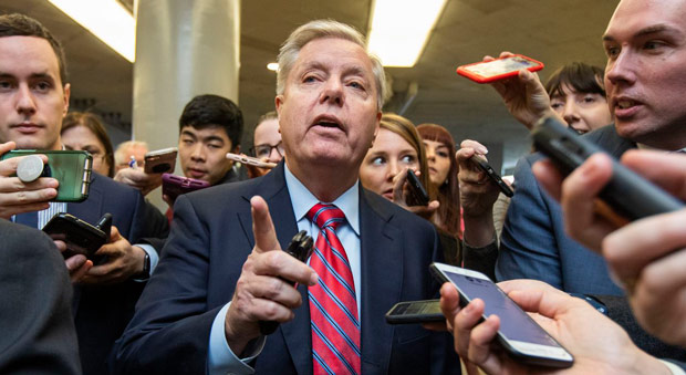 sen  lindsey graham has warned that deep state actors behind the russia collusion probe will  go to jail