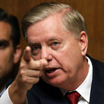 Graham Blasts 'Disgusting' Pelosi for Saying Trump Contributed to Death Toll
