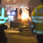 London Riots: Protests Turn Violent as Rioters Clash With Police