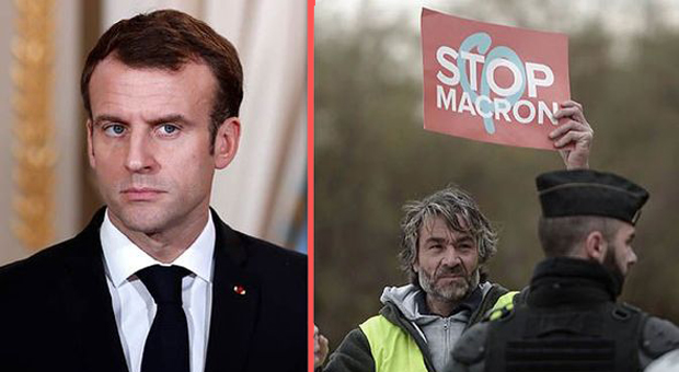Macron Gives Soldiers Go-ahead to 'Open Fire' On Yellow Vest Protestors