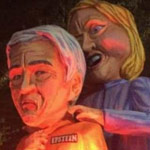Mardi Gras Float Depicts Hillary Clinton Strangling Jeffrey Epstein - WATCH