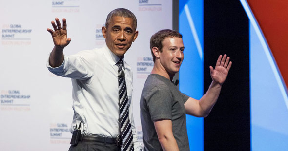 facebook and twitter have long been accused of favoring democrats  political view points