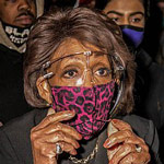 news thumbnail for Waters Says She s  Nonviolent  after Urging BLM Rioters to  Get More Confrontational