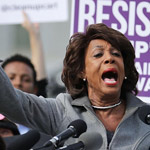 Maxine Waters: Trump 'Emboldened' Cop Charged with Killing George Floyd