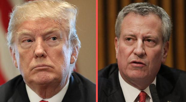NY Mayor De Blasio Orders Investigation into Trump's Taxes