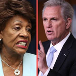 McCarthy Vows to Take Down Maxine Waters for 'Inciting Violence'