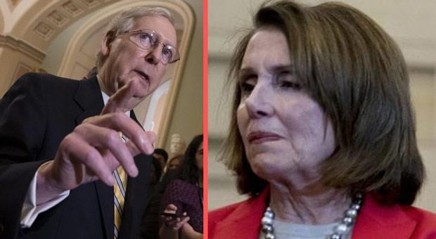 McConnell Shreds Pelosi: 'Inconceivable' 67 Senators Would Vote to Remove Trump