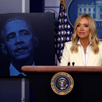 McEnany Schools Media with Slide Show Exposing Obamagate - WATCH
