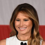 Melania Awarded 'Woman of Distinction' from University Despite Anti-Trump Protests