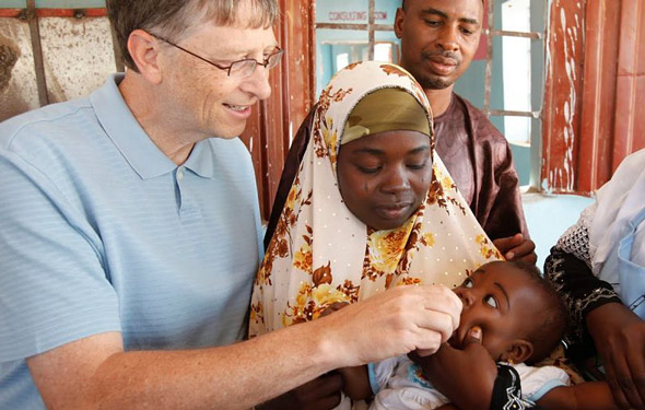 the bill and melinda gates foundation is known for its vaccine work around world