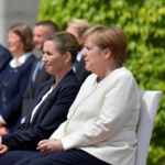 Merkel Faced With Boos And 'Hitler Salutes' From Crowd At Dresden Visit