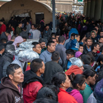 1800 Migrants Caught Illegally Crossing Border at El Paso Sector in One Day