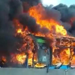 news thumbnail for Migrant Sets Fire to Bus Full of Children to Protest Italy s Anti Asylum Policy