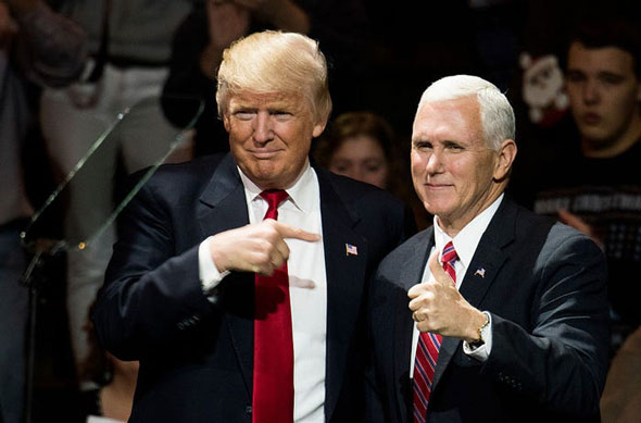 vice president pence is throwing his support behind president donald trump