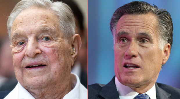 mitt romney has taken big money donations from george soros