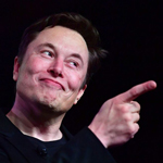 Elon Musk Trolls Joe Biden With Creepy 'Sniffing' Meme