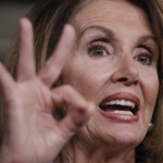 Nancy Pelosi 'Doesn't Mind Human Trafficking,' Trump Declares
