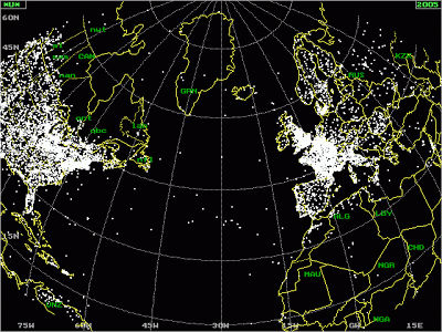 New Map Released Showing Every UFO Sighting Since 1933 To Today Animated data map shows where UFOS like to hang out Natmain1