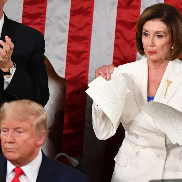Trump Predicts Pelosi 'Will Lose the House' Because of 'Impeachment Hoax'