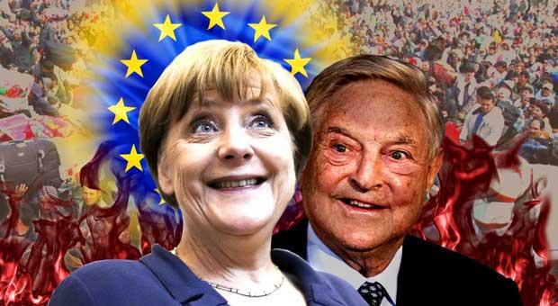 global leaders including george soros and angela merkel have decried nationalism