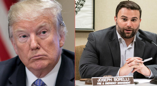 nyc councilman joseph  joe  borelli has suggested to trump that he cuts benefits of looters