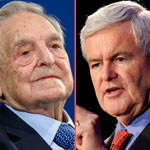 Newt Gingrich: Democratic Party Has Been Bought with George Soros' Money