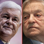 Newt Gingrich: George Soros is Pushing to 'Destroy America'