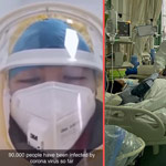 news thumbnail for Nurse Treating Coronavirus in China Claims 90 000 People Now Infected with Virus