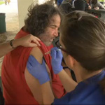Nurses Take to Streets to Vaccinate Homeless with Flu Shots