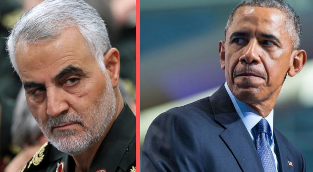former president barack obama granted amnesty to iranian terrorist soleimani as part of the historic iran deal
