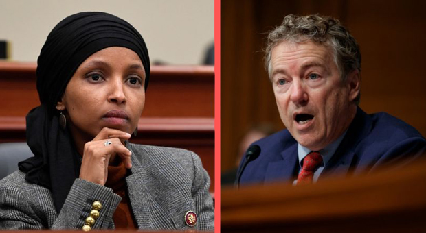 omar retweets person saying rand paul deserves to be violently assaulted