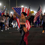 Patriots Flood California Streets to Protest Gov Newsom's COVID Curfew Order