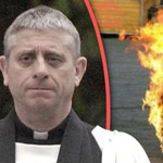Pedophile Priest Sets Himself on Fire When Caught Raping Children