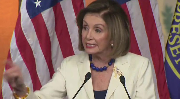 Pelosi Explodes When Asked if She 'Hates' Trump During Presser - WATCH