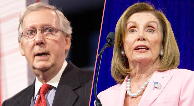 Pelosi Accuses Mitch McConnell of Being an 'Accomplice' to Russian Meddling