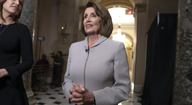 Pelosi Says She'll 'Pray' for Trump After He Blasts Democrats During Presser