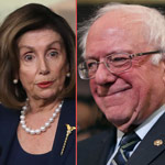 Pelosi Shows Support for Bernie Sanders as Democrat Presidential Nominee