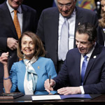Pelosi and Cuomo Sign Gun Confiscation Bill into New York State Law