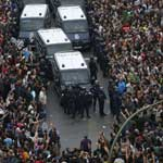 Chaos In Madrid: Citizens Rise Up Against 'Corrupt' Police State