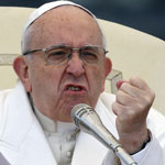news thumbnail for Pope Francis Pushes Gay Marriage  Calls for  Civil Union Law  for Same Sex Couples