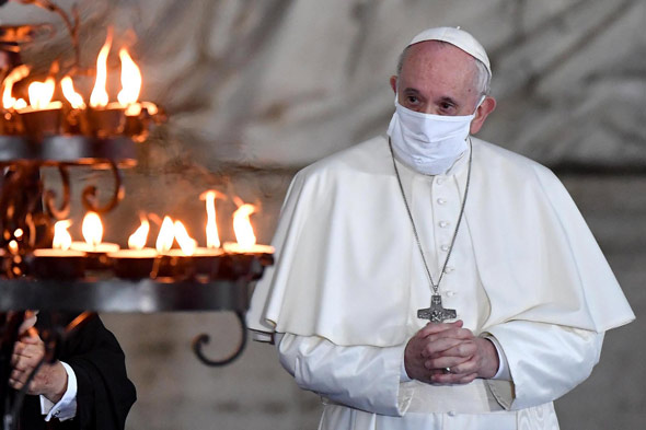 pope francis lays out his plan for a  more inclusive  new world order